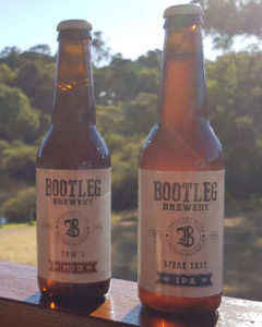 Bootleg Brewery new label